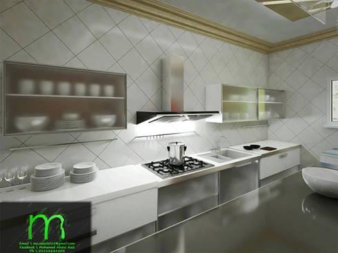 KITCHEN:  مطبخ تنفيذ EL Mazen of Finishes and Trims