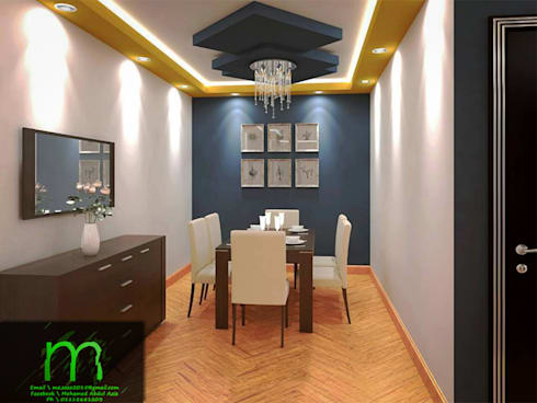dining rooms:  غرفة السفرة تنفيذ EL Mazen of Finishes and Trims
