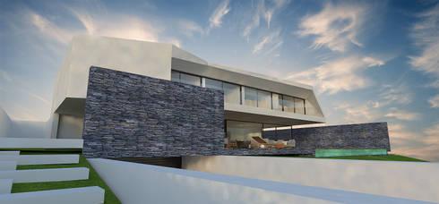 Casas modernas por OGO ARQUITECTOS