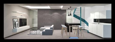 CREATE: Oficinas y tiendas de estilo  por Indigo Arquitectos