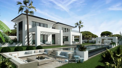 Casas de estilo mediterraneo por David Marchante  |  Inmaculada Bravo