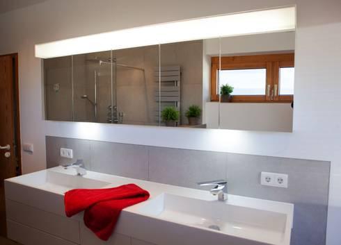 dezente farben im zeitlosen komplettbad vitus k nig gmbh. Black Bedroom Furniture Sets. Home Design Ideas