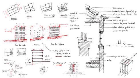 esquissos: Casas rústicas por AR arquitectura