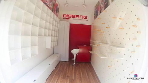 Big Bang Puebla: Espacios comerciales de estilo  por Estudio Chipotle