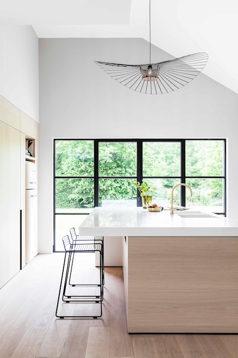 Cocinas de estilo moderno por JUMA architects