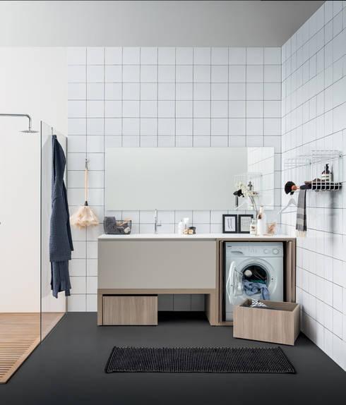 Baños de estilo  por BIREX