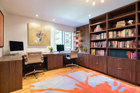 Home Offices: modern Study/office by Clean Design