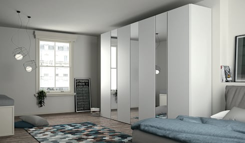 emotion armadi di dall 39 agnese homify. Black Bedroom Furniture Sets. Home Design Ideas