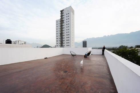 Casas CS - P+0 Arquitectura: Casas de estilo moderno por pmasceroarquitectura
