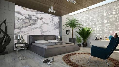 modern Bedroom by Elalux Tile