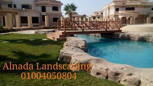 Royal Lagoon - new Cairo:  مننتجع تنفيذ Alnada Landscaping