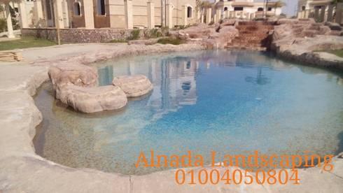 Royal Lagoon – new Cairo:  مننتجع تنفيذ Alnada Landscaping