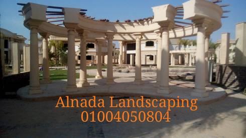 Royal Lagoon – new Cairo:  حدائق تنفيذ Alnada Landscaping