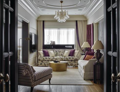 Специальная номинация от HAPPY Collections: classic Living room by Archiprofi