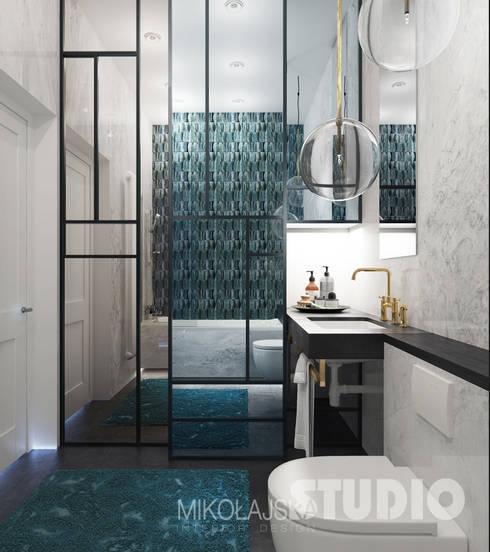 Stylowa łazienka: styl , w kategorii Łazienka zaprojektowany przez MIKOŁAJSKAstudio