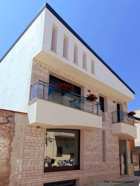 Villa 1 de studio di architettura e design giovanni for Piani casa artigiano moderno