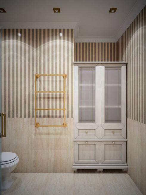 حمام تنفيذ Студия дизайна интерьера Маши Марченко