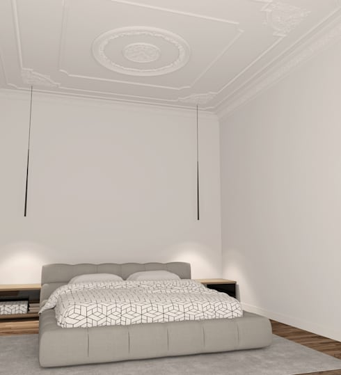 Gaudi - Walls and Ceilings: Espaços de restauração  por House Frame Wallpaper & Fabrics