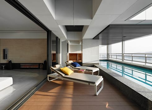 Timeless  慢行:  泳池 by 水相設計 Waterfrom Design