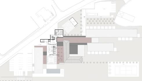 HOTEL RURAL:   por PAULA NOVAIS ARQUITECTOS E DESIGN