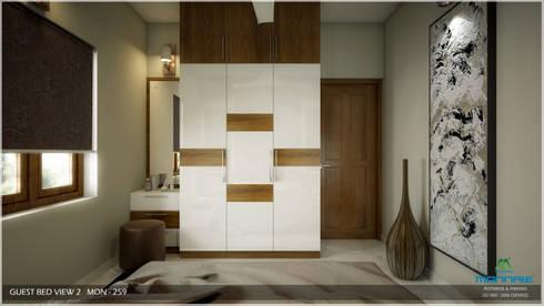 Modern Contemporary: modern Bedroom by Premdas Krishna