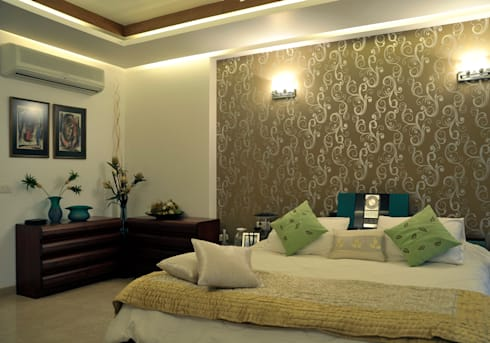 classic Bedroom by Vijay Kapur Designs