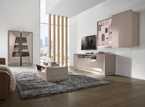 Salas de estar Living rooms www.intense-mobiliario.com  TNAMAID: Sala de estar  por Intense mobiliário e interiores;