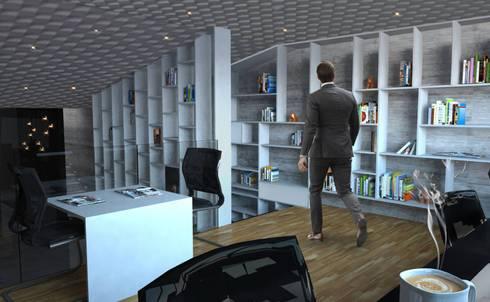 Sala de consulta : Salas de estilo moderno por Arquitectos M253