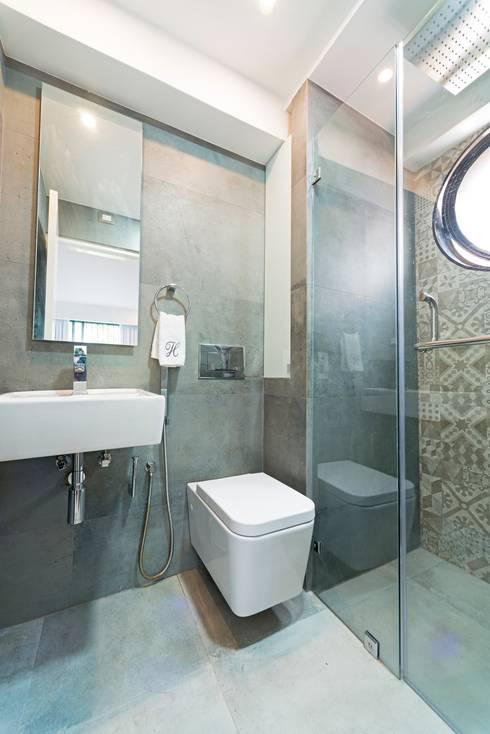 Projekty,  Łazienka zaprojektowane przez Objetos DAC