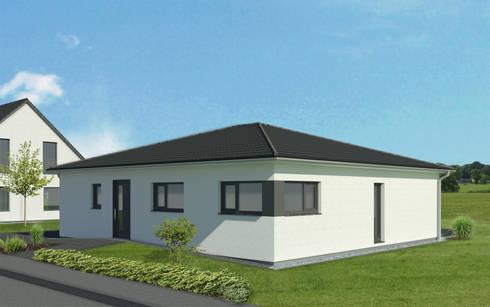 Bungalow Modern von bauen.wiewir GmbH & Co KG | homify