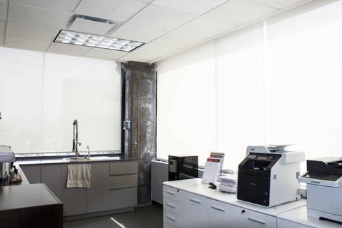 Fotografías: Estudios y oficinas de estilo minimalista por Diamond Creaciones
