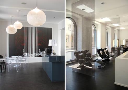 der blaue salon by qbus architektur & innenarchitektur | homify, Innenarchitektur ideen