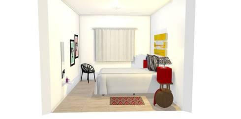 Quartos modernos por Bruna Renzano
