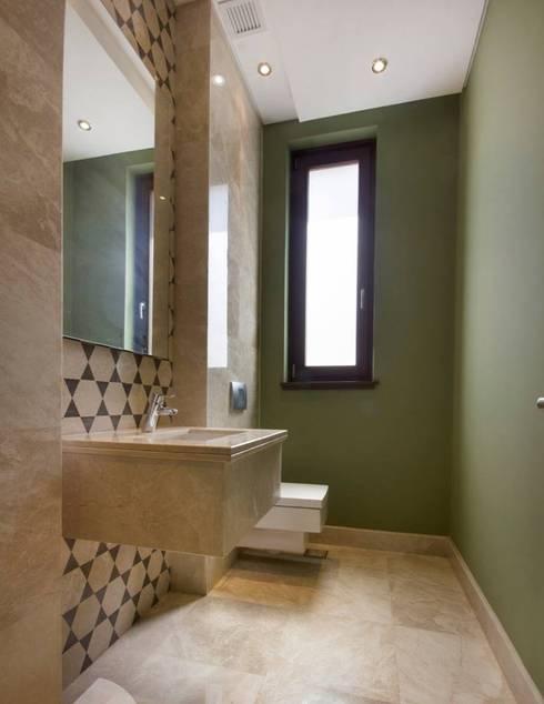تشطيب شقة 6 اكتوبر:  حمام تنفيذ YAS interior designs