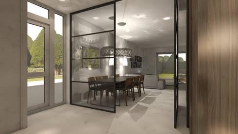 Studio DEEVIS: Ontwerp woonhuis Zoetermeer | homify