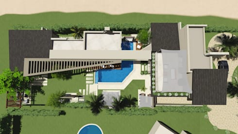تصميم فيلا في الجيزة:   تنفيذ Ain Designs Studio