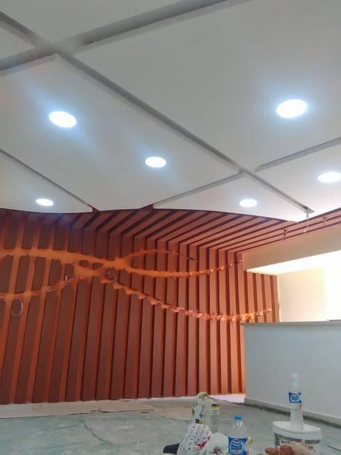 تصميم و تنفيذ مركز تشخيصي في المهندسين:  مكتب عمل أو دراسة تنفيذ Ain Designs Studio