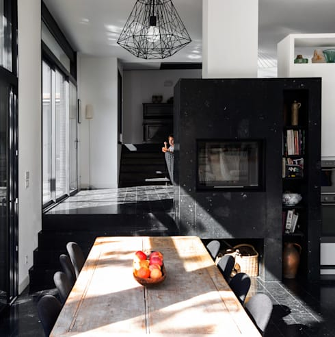 moderne Küche von Florence Gaudin architecte