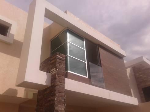 CASA PICASO: Casas de estilo minimalista por DISEÑO APLICADO AVANZADO DE GUADALAJARA