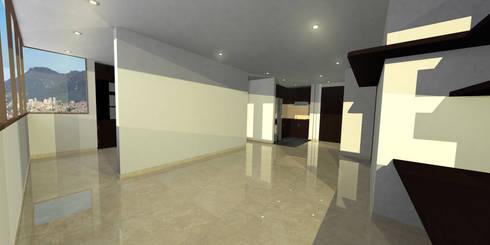apartment 039: Salas de estilo minimalista por origini