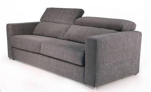 Sofás cama Bed sofas www.intense-mobiliario.com  SUTATS : Sala de estar  por Intense mobiliário e interiores;