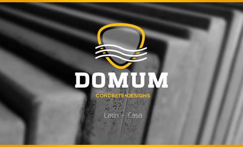 DOMUM DESINGS: Jardín de estilo  por Domum