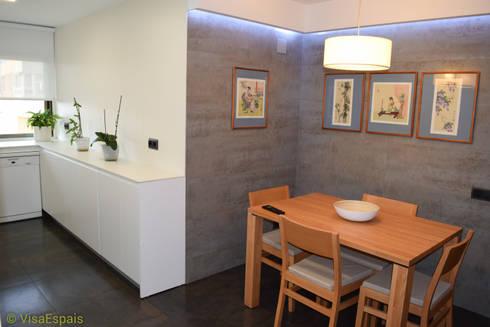 Reforma integral de cocina con office de visaespais homify - Reforma integral cocina ...