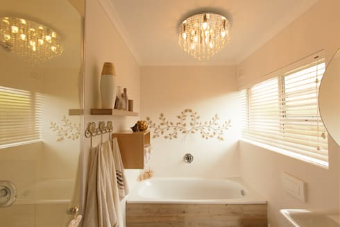 House B—House Design : eclectic Bathroom by Redesign Interiors