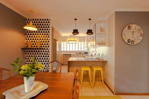 House B—House Design : eclectic Kitchen by Redesign Interiors