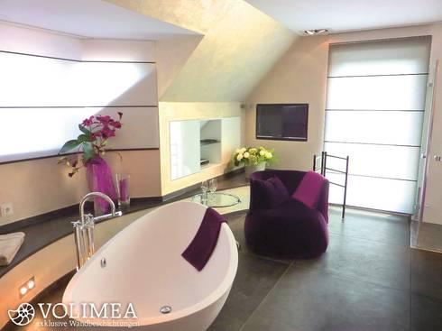 fugenloses bad und gesundes raumklima ohne schimmelbildung von volimea gmbh cie kg homify. Black Bedroom Furniture Sets. Home Design Ideas