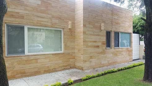 Obra Rnacho Contento, Guadalajara Jalisco: Casas de estilo moderno por amieva cristalum