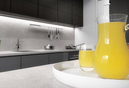 Apartamento Egas Moniz: Cozinhas modernas por ASVS Arquitectos Associados