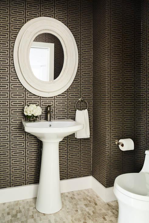 Carroll Street: eclectic Bathroom by M Monroe Design