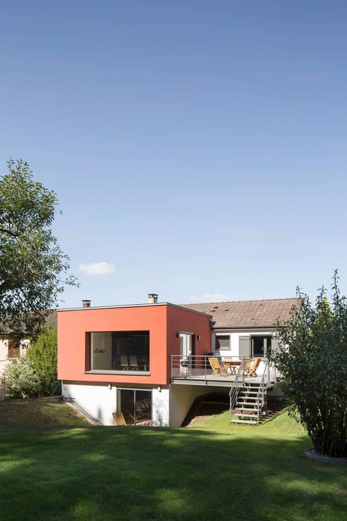 extension d 39 une maison individuelle comprenant une adaptation pour une personne mobilit. Black Bedroom Furniture Sets. Home Design Ideas